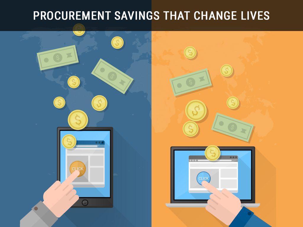 Procurement Savings that Change Lives
