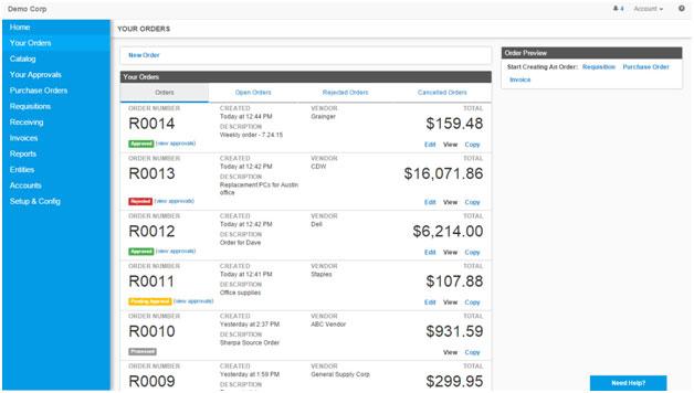 Purchasing Management eXtra suite